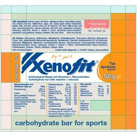 Xenofit Energy Bar Box 24 x 50g, Apricot